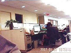 Ured poslovni analitičar milf skrivena kamera