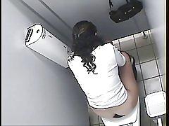 Arapski djevojka WC špijun