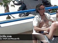 Analni seks na balkonu